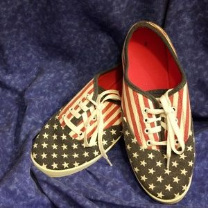 Flag shoes